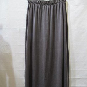 Bryn Walker Tencel Brown Maxi Skirt Size M